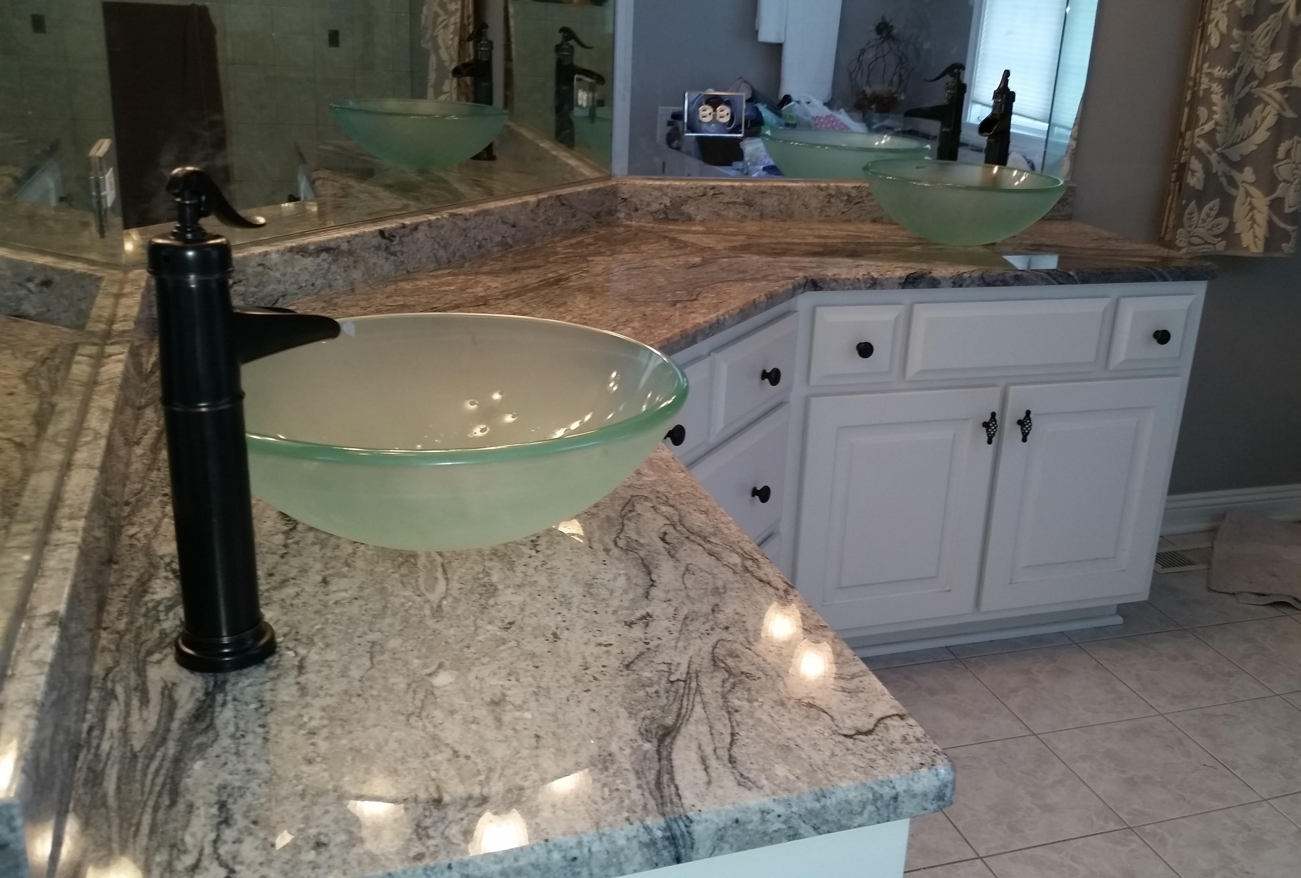 Bathroom countertops specialty marble granite for Bath remodel gurnee